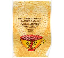 What my Coffee says to me -  January 6th, 2013 Poster