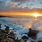 North Shore Sunset by Paul Laubach