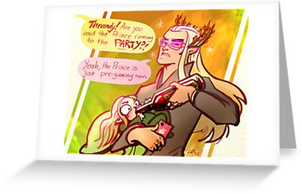 Randy Thrandy- the party dad of Mirkwood by Lorraine Schleter