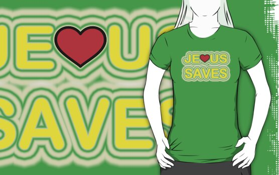 JESUS SAVES by SOL  SKETCHES™