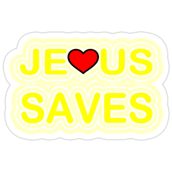 JESUS SAVES by S DOT SLAUGHTER