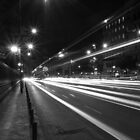 Madrit Street at Night by PMJCards