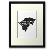 Game of Thrones - Stark house Framed Print