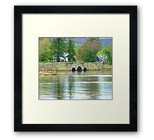Water Under The Bridge Framed Print