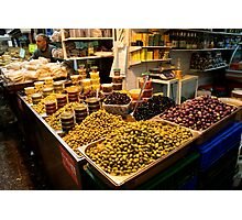 Mountains Of Olives - Jerusalem Photographic Print