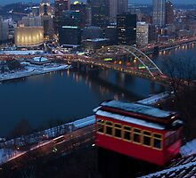 Pittsburgh and the Duquesne Incline by Mark Van Scyoc