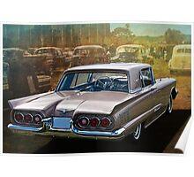 1960 Ford Thunderbird Poster