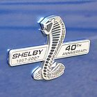 Shelby 40th Anniversary Badge by wessonp