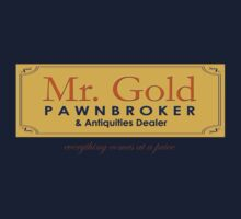 Mr Gold's Pawn Shop by tonksiford