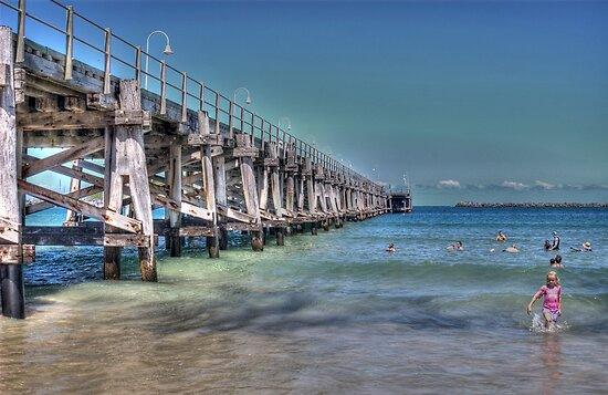 Summer, Coffs Jetty Beach by Adrian Paul