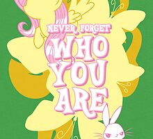 Never Forget Who You Are by Gilles Bone