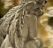 Angel and Butterfly by Linda Cutche