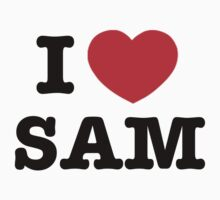 I heart Sam Winchester by Unicorn-Seller