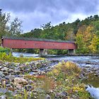 Cornwall Covered Bridge by Timothy Borkowski