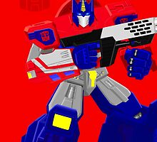 Optimus Prime by garon
