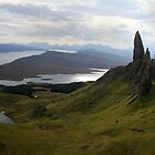 Old man of Storr Scotland by Lisa  Baker-Richardson