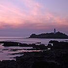 Godrevy Lighthouse by Lisa  Baker-Richardson
