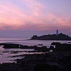 Godrevy Lighthouse by Lisa  Baker-Richardson