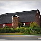 Big Red Barn. by Wildflower77