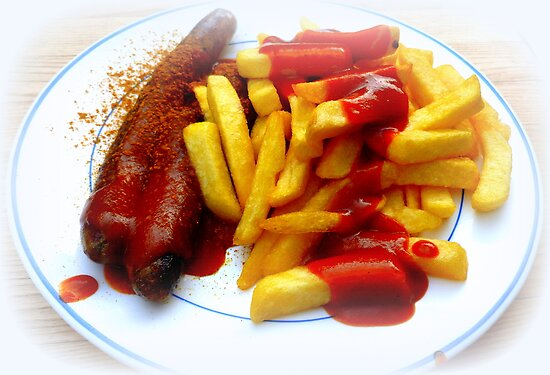 Currywurst and Pommes by ©The Creative  Minds