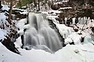 Wintertime View of Erie Falls by Gene Walls