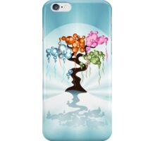 The Four Seasons Bubble Tree iPhone Case/Skin