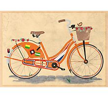 Love Holland, Love Bike Photographic Print