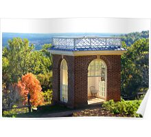 Jefferson's Windsor in Monticello's Garden Poster