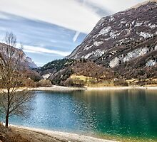 Lake Tenno, Italy. by Martina Fagan