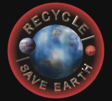 Recycle to save earth from valxart.com by Valxart