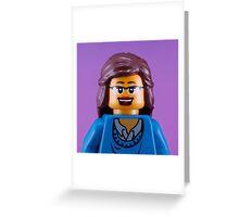 Liz Lemon/Tina Fey Portrait Greeting Card
