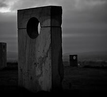 Monuments atop Haughmond by Matt Sillence