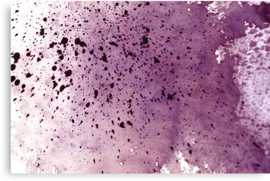 splattering red-gray by sebmcnulty