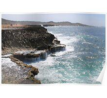 Aruba Coastline Poster