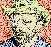 VINCENT VAN GOGH-4 by OTIS PORRITT