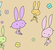Lovely Bunnies by squeaky-design