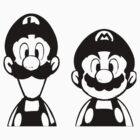 Mario & Luigi by deadpoolRKO