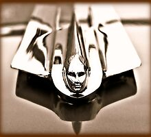 1955 Cadillac Hood Ornament by BLAKSTEEL