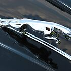 JAGUAR HOOD ORNAMENT by BLAKSTEEL