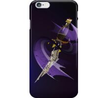 Dagger of Time (draped) iPhone Case/Skin