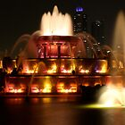 Chicago Fountain Light Show by EdPettitt