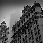 Chicago in the Mist by EdPettitt