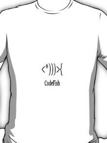Code Fish Design T-Shirt