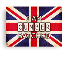 I AM CUMBERBATCHED (UK Edition) Canvas Print