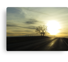 This ones for the road Canvas Print