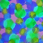 Bleeding Tissue Paper Circles - Underwater by Justpastone