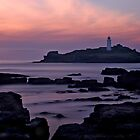 Godrevy lighthouse by Gary Richardson