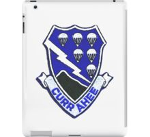 Currahee Patch 101st Airborne -  iPad Case iPad Case/Skin