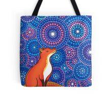 Star Gazing Fox Tote Bag