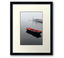 Color in a grey day.  Framed Print
